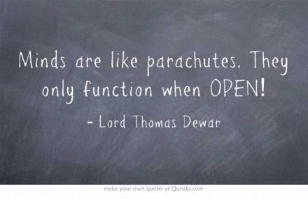Wijsheid-Woensdag: Open Your Mind