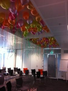 Ballonnen Dag van de Trainer