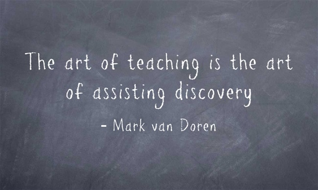 The-art-of-teaching-is
