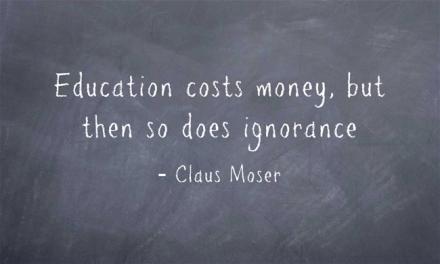 Wijsheid-Woensdag: Education