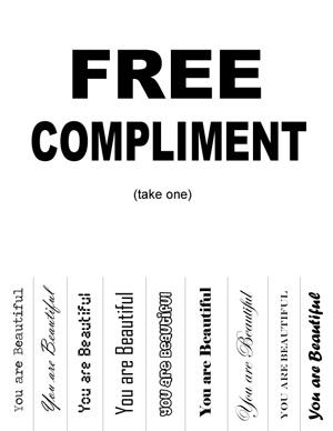 Speel-Mee-Maandag: Complimenten