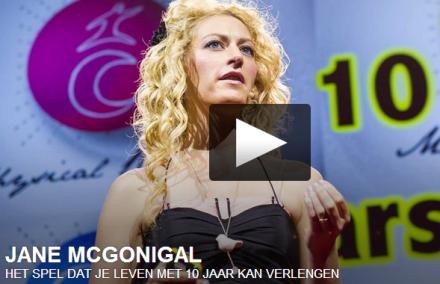 Video-Vrijdag: Jane McGonigal, zij kan spelen!