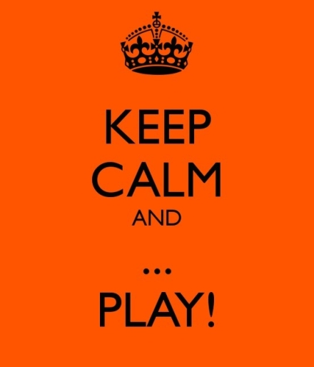 Wijsheid-Woensdag: Keep Calm And Play