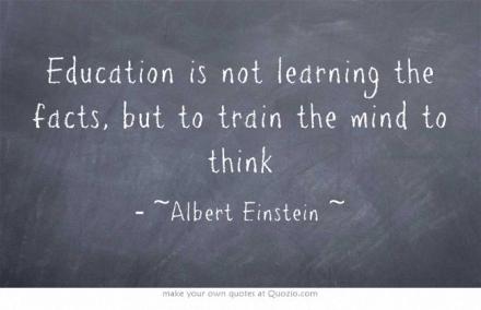 Wijsheid-Woensdag: Leren: niet het resultaat, maar het proces…