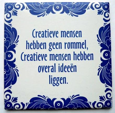 Wijsheid-Woensdag: Ideeën ;-)