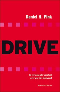 Boeken-tip zodat je meer leert hoe je deelnemers en opdrachtgevers betrekt: Drive van Daniel Pink!