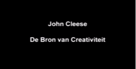 Video-Vrijdag: John Cleese over creativiteit.