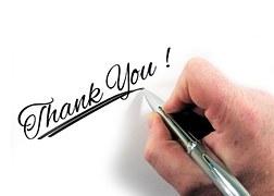 Stimuleer participatie in je training of je workshop door het bedanken van de deelnemer voor zijn bijdrage! #trainerstips