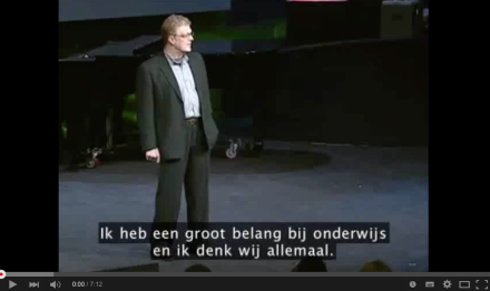 Video-Vrijdag: Ken Robinson over creativiteit