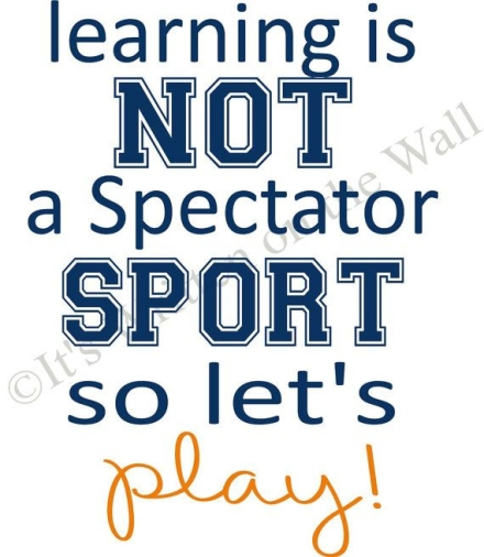 Learning is not a spectators sport so let's play! #SpeelseSessies