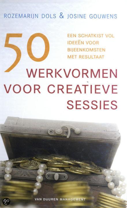 Boekentip 50 werkvormen voor creatieve sessies