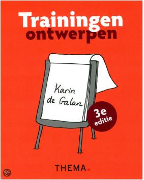 Boeken-tip voor het ontwerp van je training / workshop