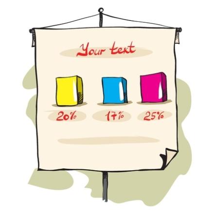 Maak je flipovervellen en andere visuals vóórdat je workshop of training begint. Meer tijd en aandacht voor de deelnemer! #trainerstips