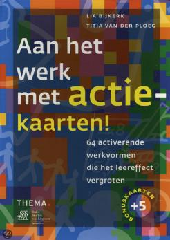 Spel-tip voor in je workshop/training: Aan het werk met actiekaarten van Titia van der Ploeg