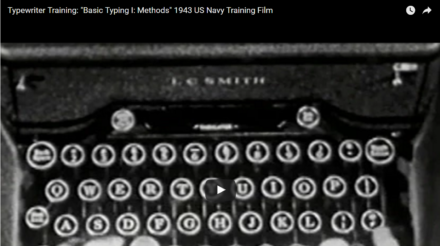 Video-vrijdag: Video-lessen modern? Nee joh! Het bestond al in 1943!